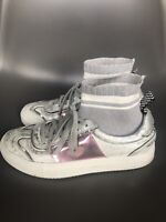 P448 You Can Surf Later Multi Coloured Sneakers Size 37 UK4 US7