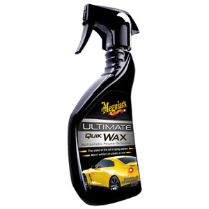 MEGUIARS Ultimate Quik Wax in spray 450 ml Hydrophobic Polymer Technology