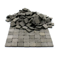 Scale Model Pavement Stone Bricks / Floor Tiles for Modelling and Dollhouses