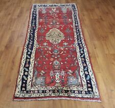 Traditional Vintage Wool Handmade Classic Oriental Area Rug Carpet 240X 93cm