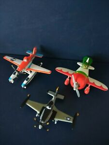 Disney Mattel 'Planes 2' Mater, Dusty & Crophopper Collectable Toy Figures