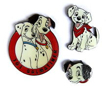 Comic ÉPINGLETTE /PINS - DISNEY / 101 Dalmatiens - 3 BROCHES [4025A]