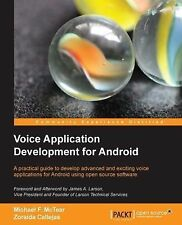 Voice Application Development for Android by Zoraida Callejas and Michael F....