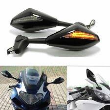 Black Motorcycle Turn Signal Side Mirror For Suzuki SV1000S SV650 Katana 600 750
