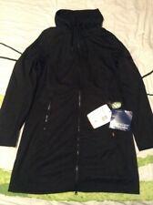 Vaude Women's Belize Softshell Coat Size 16  XL (44) BNWT Black Windproof Jacket