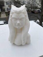 6 Inch 3D Printed Ahsoka Tano Inspired Bust