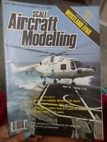 SCALE AIRCRAFT MODELLING  VOL.6  NUMBER 10  JULY 1984  MAGAZINE WESTLAND LYNX
