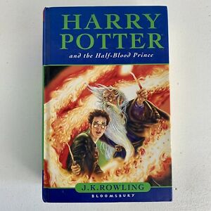 Harry Potter And The Half-Blood Prince Hardback First Edition Page 99 Error 2005