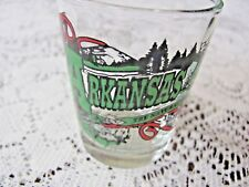 Arkansas State Souvenir Shot Glass 2 3/8 Inch Tall - Jenkins Ent.
