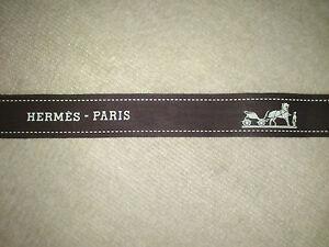 Authentique bolduc Hermès  - Différents modèles et longueurs au choix - NEUF