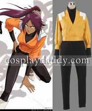 Bleach Soul Society Yoruichi Shihoin Outfit Cosplay Costume