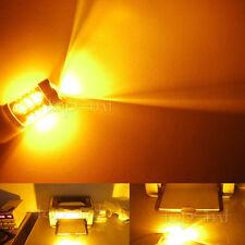 2 80w Amber Yellow 3157 3156 LED Auto Car Turn Light Bulb backup brake tail lamp