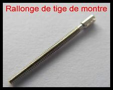 rallonge de tige Ø0.70mm de montre quartz, mécanique, gousset