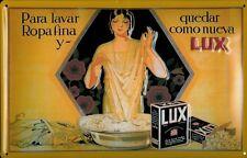 LUX Spagna LAMIERA SCUDO SCUDO 3d caratterizzato piegato METAL TIN SIGN 20 x 30 cm
