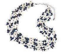Pearl & Gemstone Multi Strand Necklace