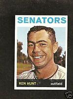1964 Topps # 294 Ken Hunt Ex-Mt
