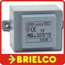 TRANSFORMADOR DE ALIMENTACION ENCAPSULADO 12VA ENTRA 220V AC SALIDA 9V AC BD8245