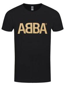 T-shirt ABBA Gold Logo Men's Black