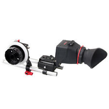 Kamerar Camera QV-1M LCD View Finder & Follow Focus Rods bundle kit a 7 GH 3 fit