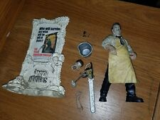 McFarlane Movie Maniacs Texas Chainsaw Massacre Leatherface Figure Complete