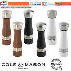 Salt and Pepper mill Salt Pepper grinder Cole & Mason Walnut Wood Gift idea