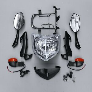 HEADLIGHT SET HEAD LIGHT ASSEMBLY FIT FOR YAMAHA FZ1N 2006-2009 07 08 Motorcycle