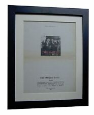 THE SMITHS+Best+POSTER+AD+RARE ORIGINAL 1992+TOP QUALITY FRAMED+FAST GLOBAL SHIP