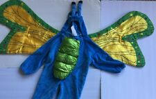 Rubie's Plush Toddler Butterfly Costume Blue