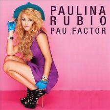 Pau Factor [11-Track] by Paulina Rubio (CD, Nov-2013, Universal Music Latino)