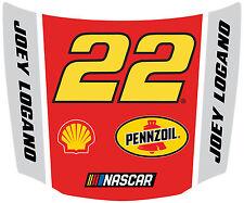 NASCAR #22 Joey Logano Hood Shaped Magnet-NASCAR Magnet