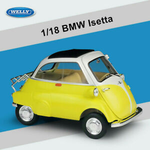 Welly 1:18 BMW Isetta Diecast Car Vehicle Model 4 Color Can Be Selected Gift Hot