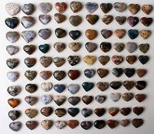 WHOLESALE PRICE! 100Pcs Beautiful Ocean Jasper Love Heart Shaped Pendant 1704