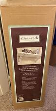 """(nuevo) Allen + Roth Ventilado kit de estante 16"""" X 48"""" (acabado blanco) 100% Madera Maciza"""