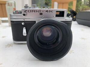 zorki 4k Camera With jupiter 8 Lens