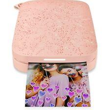 HP Sprocket Portable Photo Printer | 2nd Edition | Blush | 1AS89A