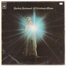 A Christmas Album  Barbra Streisand Vinyl Record