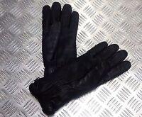 Genuine British Military Black Leather Combat Gloves MK2 MVP - All Sizes - NEW