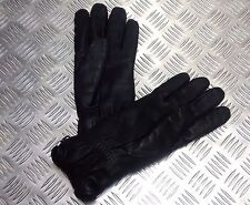 Genuine British Military Black Leather Combat Gloves MK2 MVP - All Sizes - NEW