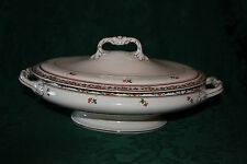 Antique John Maddock & Sons Oval Covered Dish