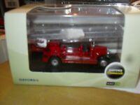 Oxford Commercials Leyland TLM Fire Engine London Fire Service Diecast 1:76 New.