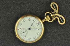 VINTAGE LADIES 0 SIZE ELGIN BROOCH WATCH GRADE 324