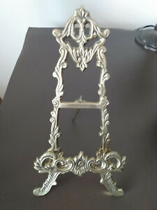 Vintage Brass Easel - Picture Stand