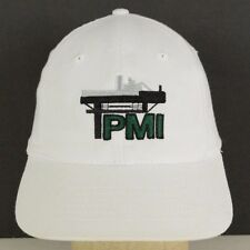 PMI Ash Technologies Coal Combustion Gas Oil White Baseball Hat Cap Adjustable
