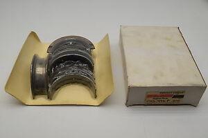 "Perfect Circle MS-496P-10 Main Bearing Set .010"" 1959-79 Pontiac 326 350 389 400"