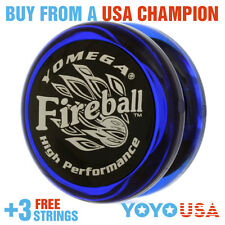 [WINTERSALE] Yomega Fireball Yo-Yo - Clear Blue / Black + STRINGS