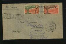 Cameroun 205,207 on cover 1938 to Switzerland Ks0329