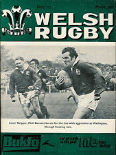 WELSH RUGBY MAGAZINE JULY 1977 BRITISH LIONS IN NEW ZEALAND, LLANDAFF, MUMBLES