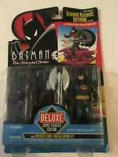 1993 NIB Batman Animated Series Deluxe GROUND ASSAULT BATMAN Kenner