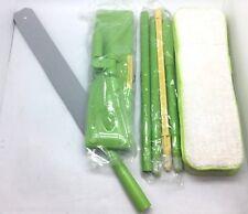 Flexi Mop Bending Flex Duster Deluxe Kit Floor House Cleaner w/Light Fiber Cloth