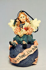 Boyds Bears Folkstone: Laverne . On Strike - 25689 - Holiday Ornament